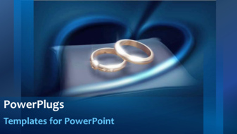 PowerPoint Template - Wedding rings